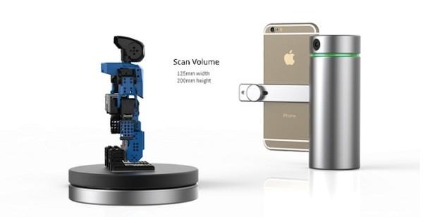 Eora 3D Laser scanner for iPhone