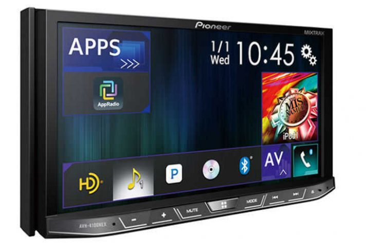 Pioneer AVH-4100NEX: the new CarPlay aftermarket car audio system