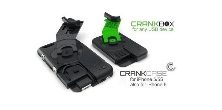 Ampware CrankCase: manually recharge your iPhone, turn the crank!