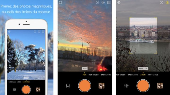 Hydra for iOS: jetpack the iPhone camera with HDR, high-res zoom, low light photography