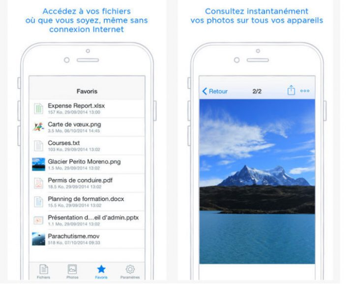 Dropbox: universal sharing extention for iOS 8