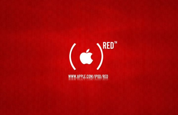 65 million $ raised by Apple's PRODUCT(RED) iPods line against AIDS