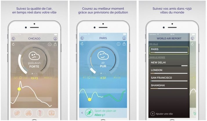 Plume Air Report : check the air quality around you with your iPhone