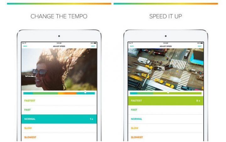 Tempo Video Editor: an iOS video editing app for slow-motion and time-lapse