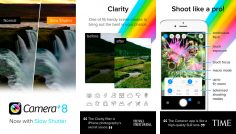 Camera+ for iPhone version 8 : slow shutter speed, low ISO, new import features