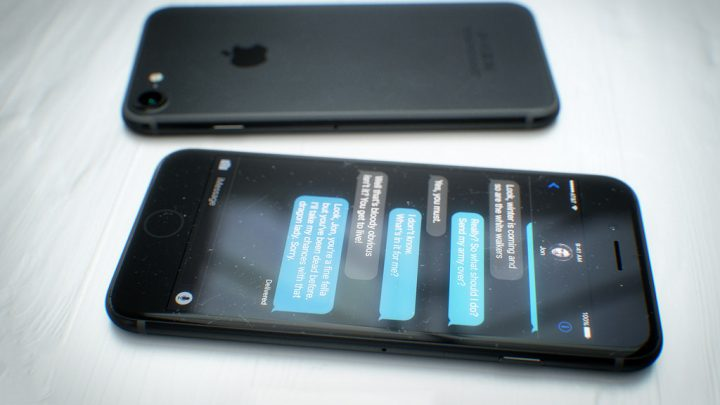 iPhone 7 Space Black concept by designer Martin Hajek [Photo Gallery] </br> <span>Black beauty !</span>