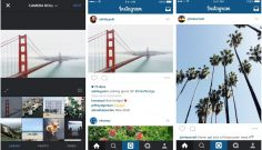 Instagram opens to landscape and portrait image ratios