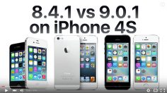 Will iOS 9 run OK on my iPhone 4S, iPhone 5 or iPhone 5S ? This video answers.