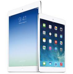 Say hello to the iPad Air and iPad mini Retina