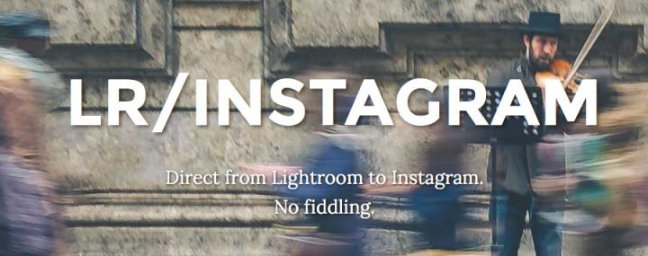 LR/Instagram : a plugin to post your best photos on Instagram directly from Lightroom