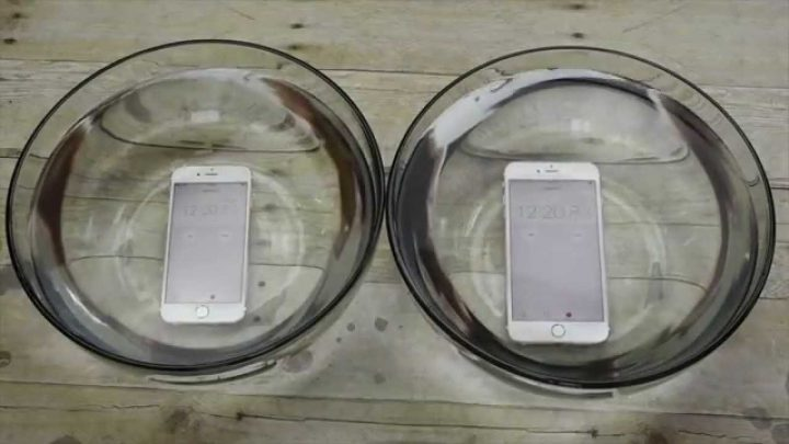 Is the iPhone 6S waterproof? It looks like yes! (Video)