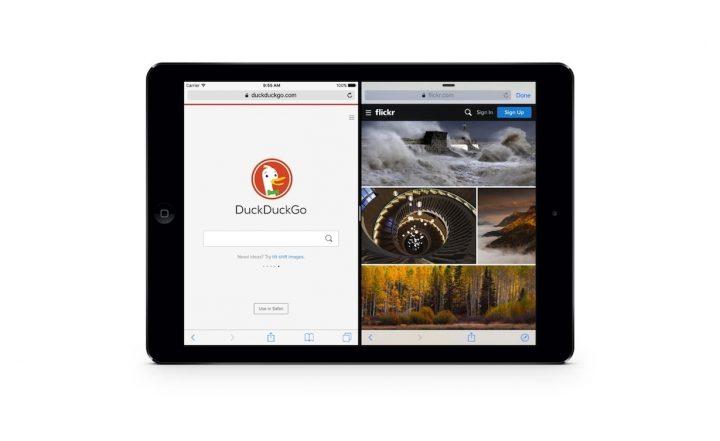 Sidefari for iOS : have two Safari windows on your iPad Screen