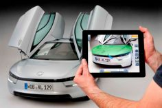 Volkswagen, the iPad and Augmented Reality