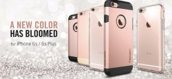 iPhone 6S rose gold : thank you Spigen for the hint